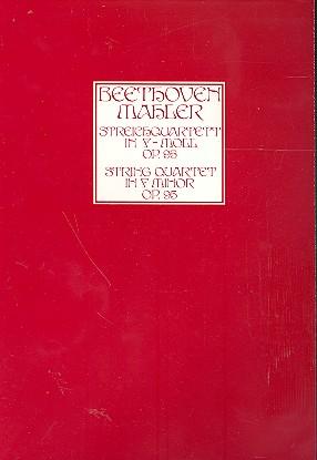 Beethoven, Ludwig van - Streichquartett f-Moll op.95 : für Streichorchester