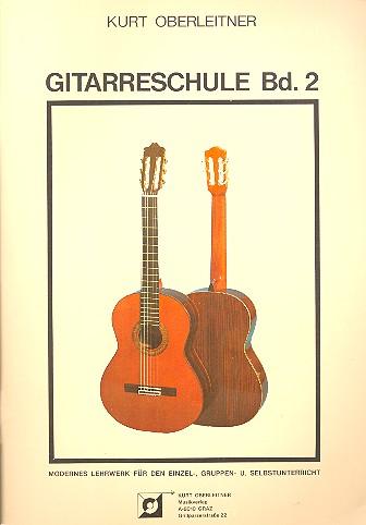 Gitarrenschule Band 2: Modernes Lehrwerk für den Einzel-