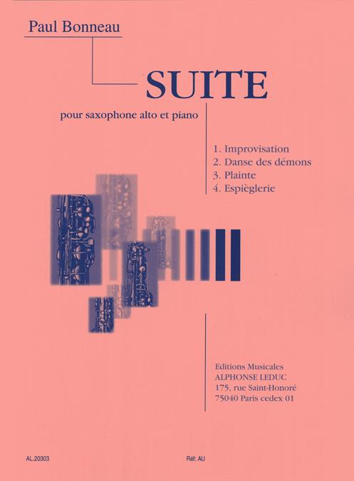 Bonneau, Paul - Suite :