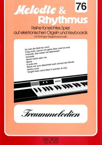 Traummelodien: für E-Orgel / Keyboard