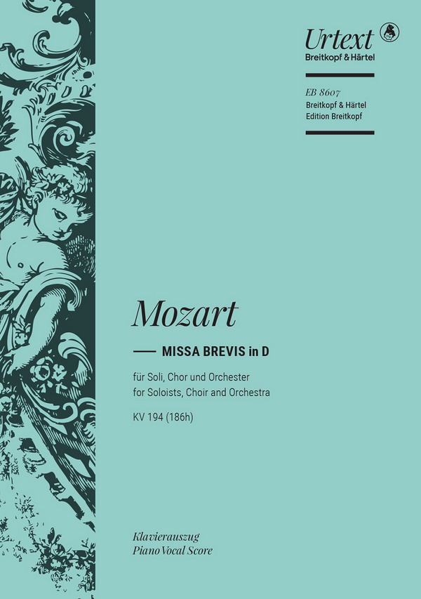 Missa brevis D-Dur KV194: für Soli, Chor und Orchester