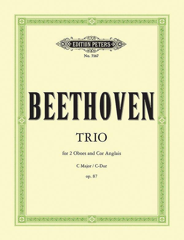 Beethoven, Ludwig van - Trio C-Dur op.87 :