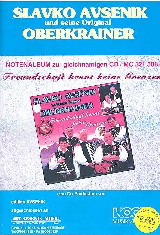 Slavko Avsenik und seine Original Oberkrainer: Notenalbum zur CD