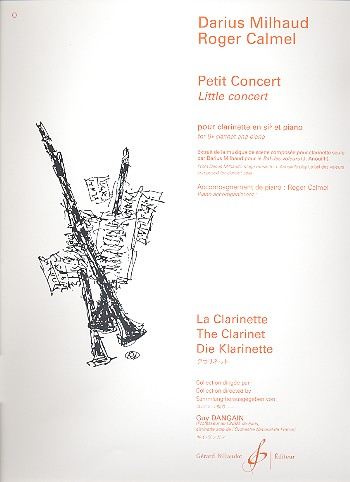 Milhaud, Darius - Petit concert :