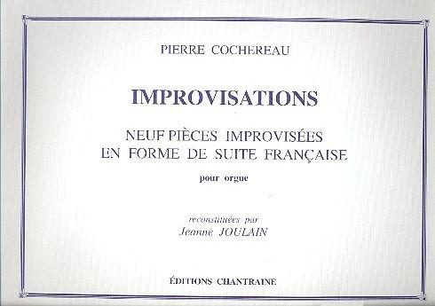 Improvisations: 9 pièces improvisées en forme de