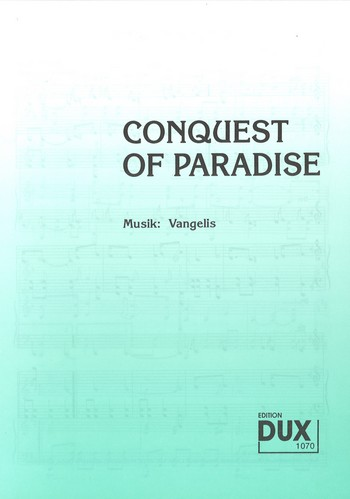 Conquest of Paradise: für Klavier