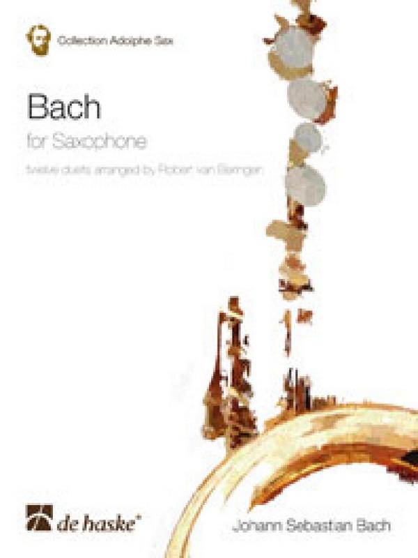 Bach, Johann Sebastian - Bach for Saxophone : 12 Duets
