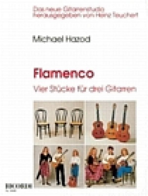 Hazod, Michael - Flamenco : 4 Stücke für 3 Gitarren