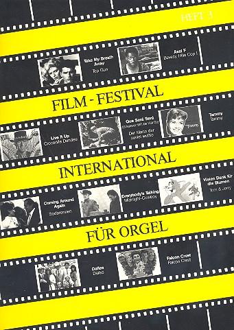 Film-Festival international Band 3: für Orgel