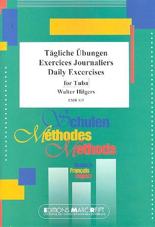 Hilgers, Walter - Tägliche Übungen : für Tuba