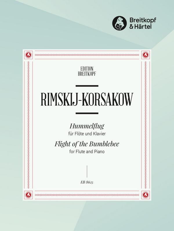 Rimski-Korsakow, Nicolai - Hummelflug : für Flöte und Klavier