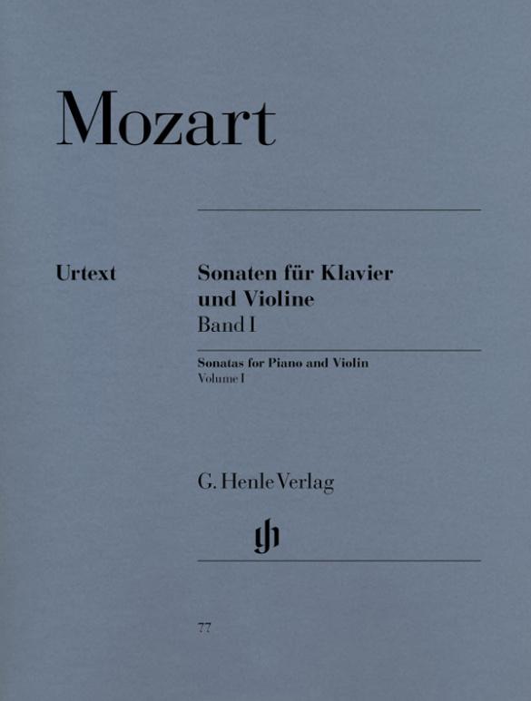 Mozart, Wolfgang Amadeus - Sonaten Band 1 : für Violine und Klavier
