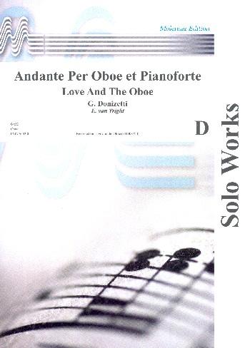 Donizetti, Gaetano - Andante : für Oboe und Klavier