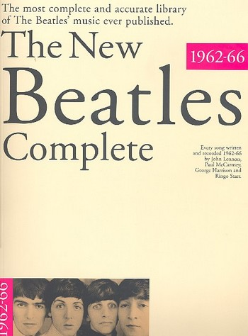 - The new Beatles Complete 1962-66 :