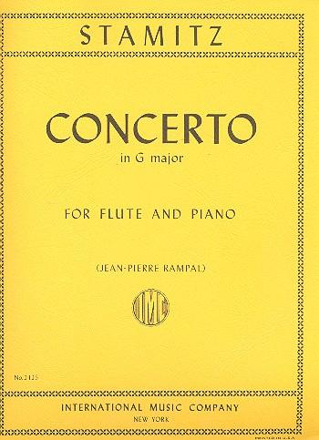 Stamitz, Karl - Concerto G major op.29 : for flute