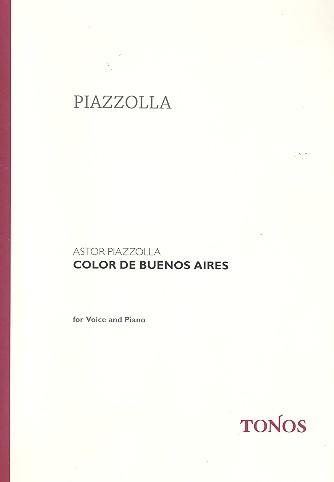 Piazzolla, Astor - Color de Buenos Aires : für
