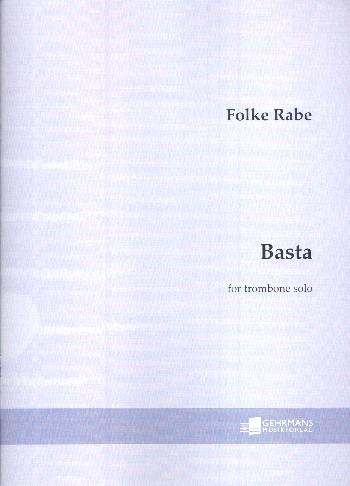 Basta: for trombone solo