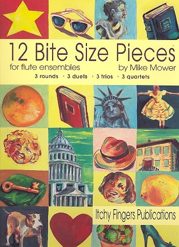 12 Bite Size Pieces: for 2, 3 or 4 flutes