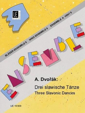 3 slawische Tänze: für Bläser-Ensemble