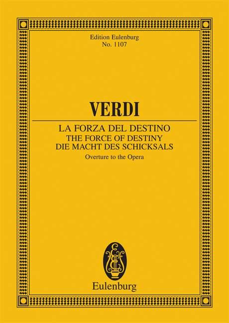 Verdi, Giuseppe - Die Macht des Schicksals :