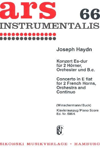 Haydn, Franz Joseph - Konzert Es-Dur für 2 Hörner,