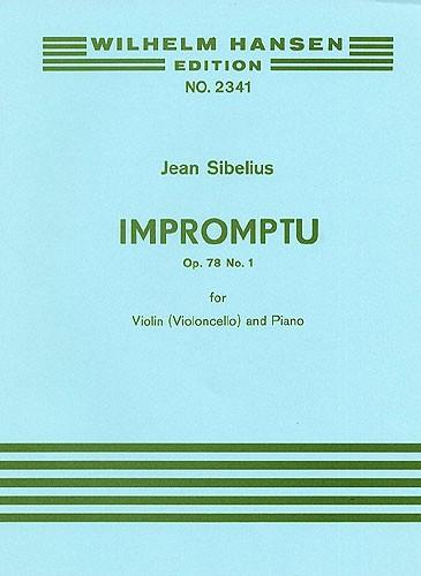 Sibelius, Jean - Impromptu op.78,1 :