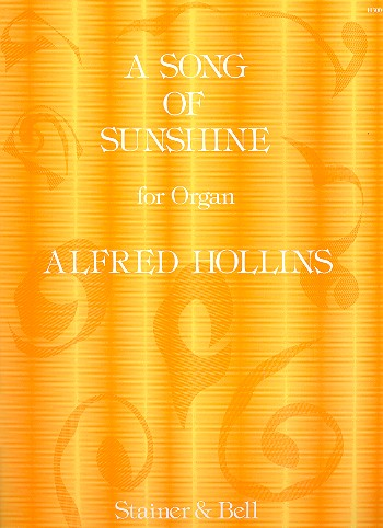 A Song of Sunshine: for organ