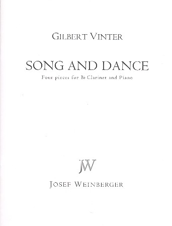 Vinter, Gilbert - Song and Dance : for clarinet and