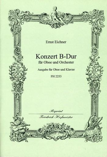 Eichner, Ernst - Konzert B-Dur für Oboe und