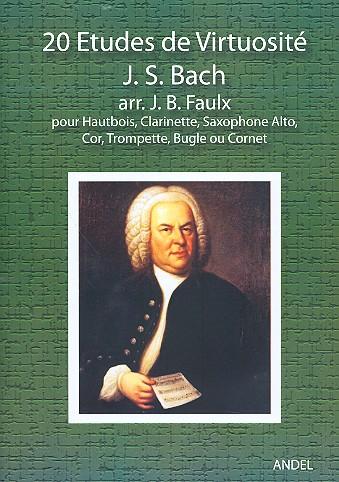 20 études de virtuosité: for oboe (clar/sax.alto/cor/tromp/bugle/cornet)