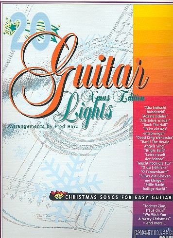 20 Guitar Lights: Christmas Songs for easy guitar