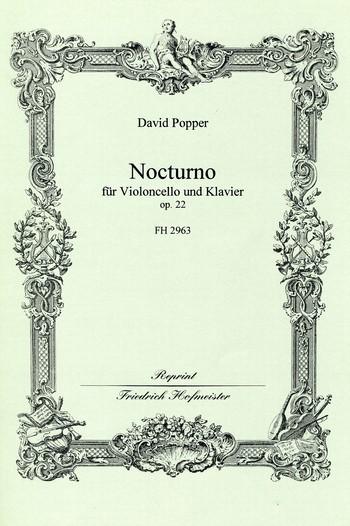 Popper, David - Nocturno op.22  : für