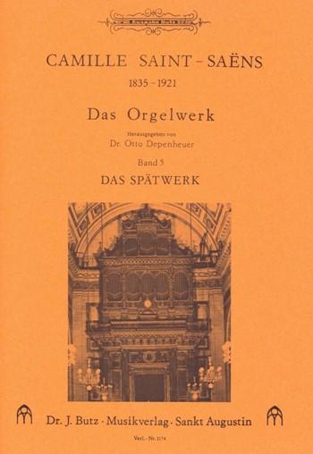 Saint-Saens, Camille - Das Orgelwerk Band 5 :