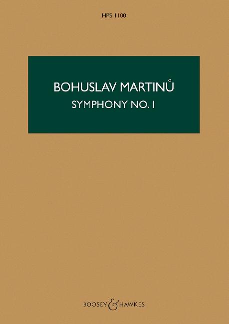 Sinfonie Nr.1: für Orchester Studienpartitur