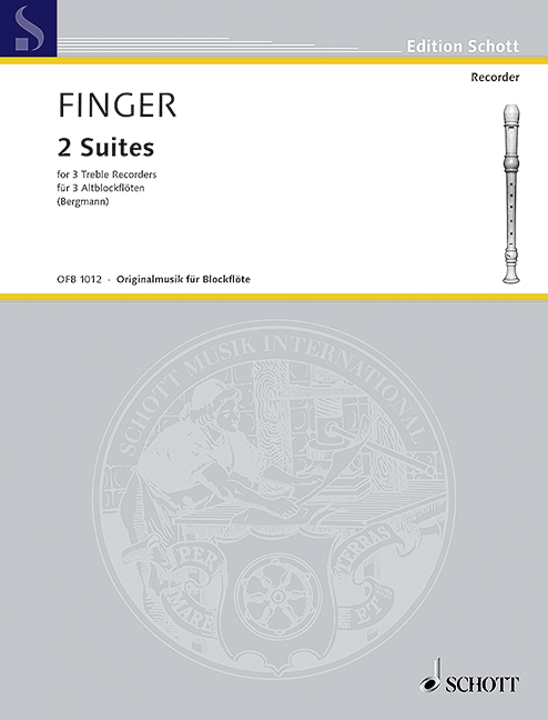 2 Suites: for 3 treble recorders