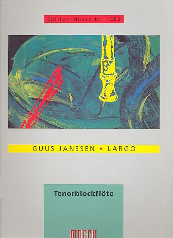 Largo: für Tenorblockflöte solo