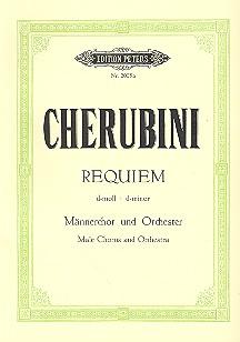 Requiem d-Moll: für Männerchor und Orchester