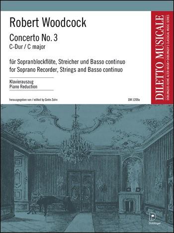 Woodcock, Robert - Concerto Nr.3 C-Dur :