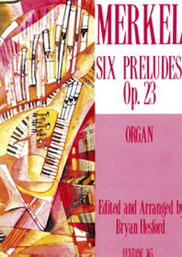 6 préludes op.23: for organ