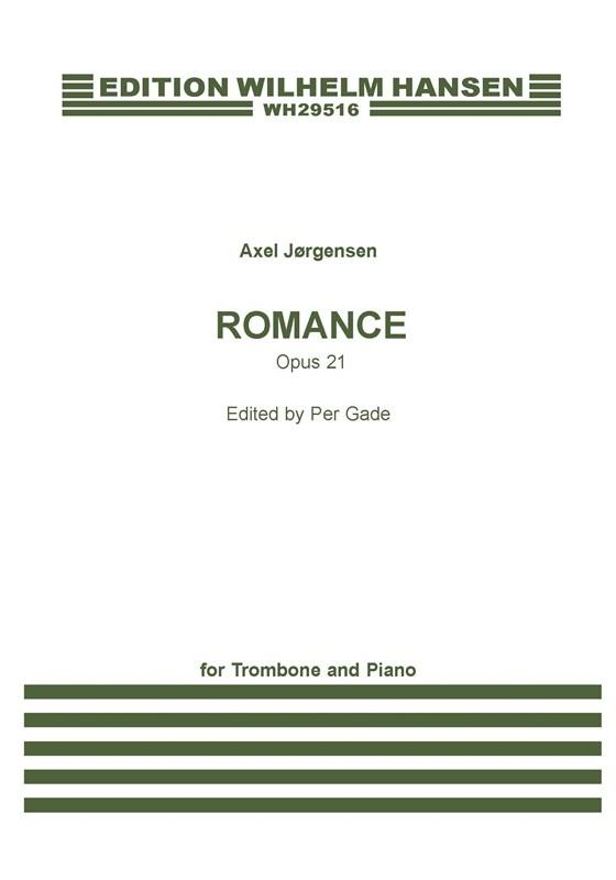 Romance opus.21: for trombone and piano