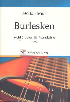 Strauß, Marlo - Burlesken : 8 Studien