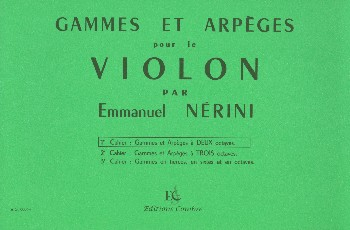 Nerini, Emmanuel - Gammes et arpèges vol.1 :