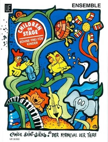 Der Karneval der Tiere: für Ensemble (1./2.Stimme C/B mit Klavier, Basstimme, Schlagw. ad lib)
