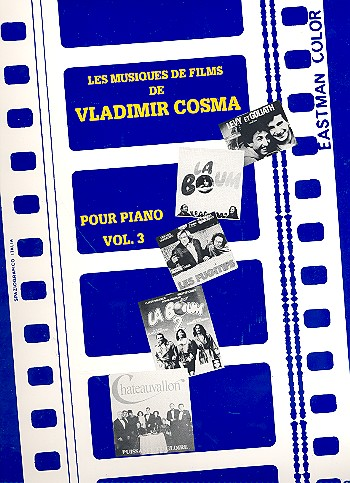 Cosma, Vladimir - Les Musiques de Film de Vladimir Cosma vol.3 :