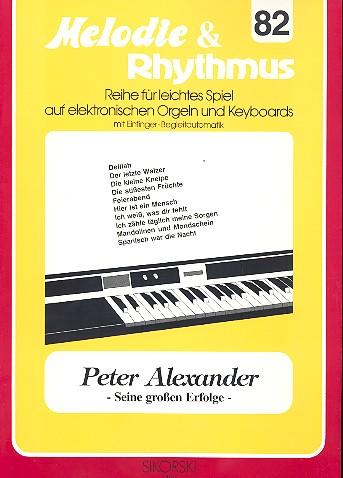 - Peter Alexander und seine großen