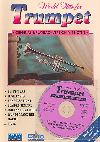- World Hits for Trumpet (+CD) :