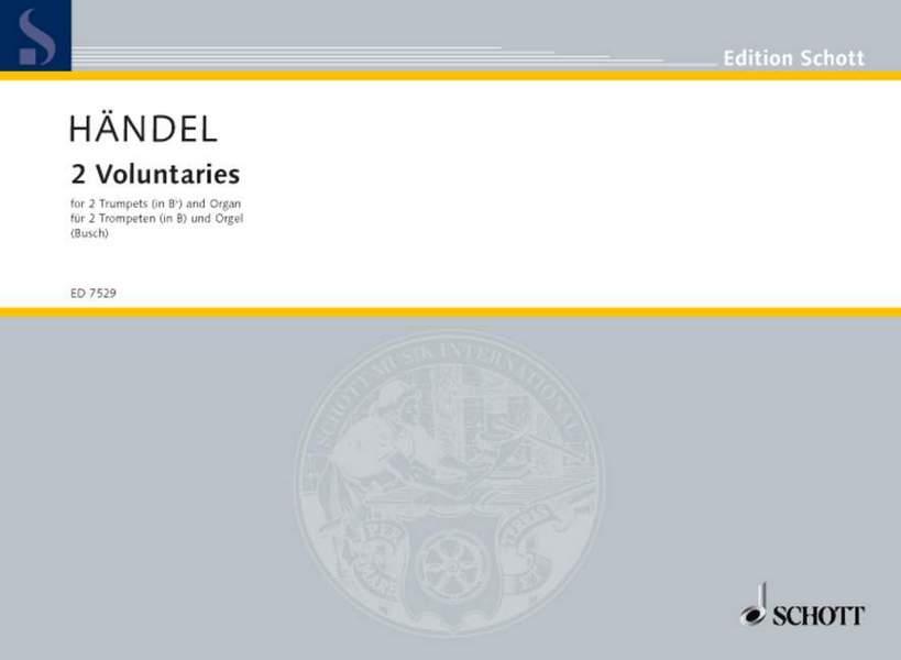 2 Voluntaries: für 2 Trompeten und Orgel