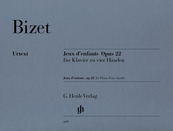 Bizet, Georges - Jeux d'enfants op.22 :