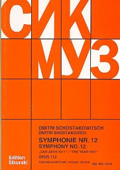 Schostakowitsch, Dimitri - Sinfonie Nr.12 op.112 :