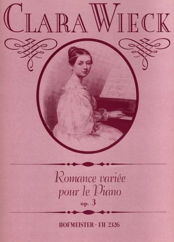 Schumann, Clara - Romance variée op.3 : für Klavier